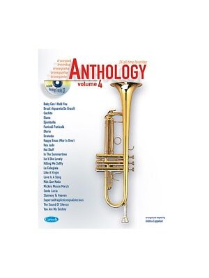 Anthology Trumpet, Volume 4 Learn to Play Present MUSIC BOOK & CD Trumpet