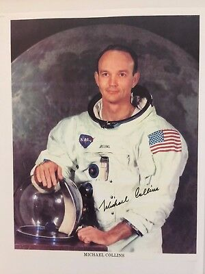Michael Collins -Signed Photo...LOOK