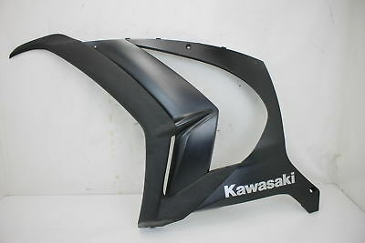 11-15 2015 Kawasaki Ninja ZX10R Lower Mid Left Side Fairing Black