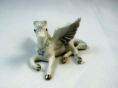 Hagen Renaker miniature made in America Pegasus lying