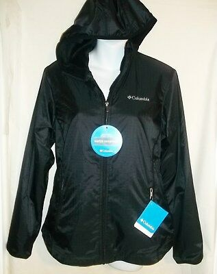 NWT WOMENS COLUMBIA QUEEN PASS Black Coat Jacket Size S