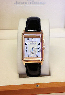 Jaeger-LeCoultre Reverso Day Night 272.2.54 Rose Gold - B&P - Serviced By JLC