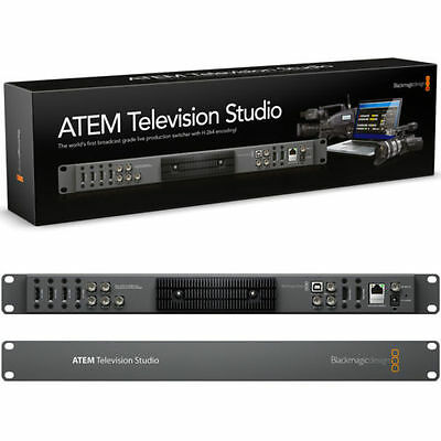 Blackmagic ATEM Television Studio Production Switcher - Only 10 uses.  PERFECT!!