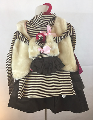 Our Generation Outfitters Me You XS Matching Doll Set NWT Brown Stripe 2 Sets