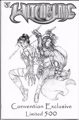 Witchblade # 64 Comic Con  Jay Company Sketch Cover COA