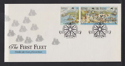 Australia 1987 : The First Fleet - Cape of Good Hope. First Day Cover. Like New