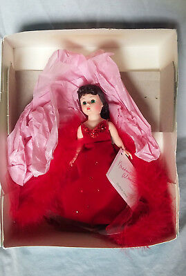 "Madame Alexander 9"" Scarlett Red Dress Doll (161106) NEW"