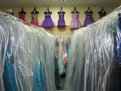 LOT of 15 SHORT LENGTH PROM HOMECOMING COCKTAIL FORMAL DRESSES NWT $3K VALUE