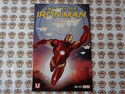 Invincible Iron Man (2015) Marvel - #1, HTF Marvel Unlimited Plus Variant, NM/-