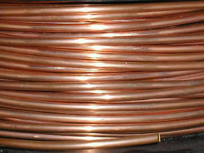 copper round wire unplated 1.25mm x 5m