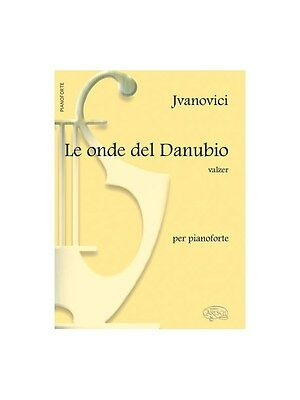 Ivanovici Le Onde Del Danubio Pf Bk Learn to Play Present Gift MUSIC BOOK