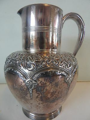 Antique Silver Plate Jug by Mark Willis & Son 1910