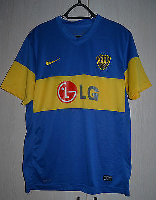 Boca Juniors Argentina 2011 Football Shirt Jersey Nike Riquelme Era Replica