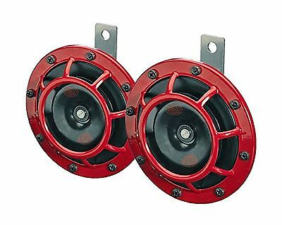 HELLA 003399801 Supertone 12V High Tone/Low Tone Twin Horn Kit with Bracket New