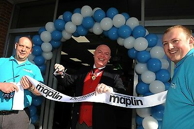 Personalised Ribbon Cutting Banner for Store office business opening or new home