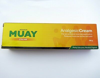 3 x 100g Namman MUAY Cream - Analgesic Cream Boxing Muscle Pain Relief UK SELLER