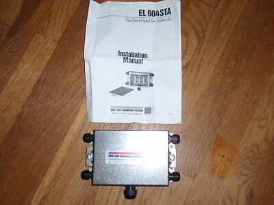 Rice Lake Weighing Systems EL 604STA Four Channel Signal Trim Juction Box