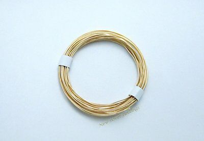 14K Gold Filled 20Gauge 3ft. Round Beading Wrapping Wire (Soft) New U.S.A.