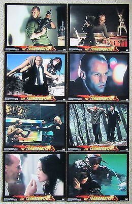 TRANSPORTER ORIGINAL 2002 SET OF 8 LC's 11X14 JASON STRATHAM NM