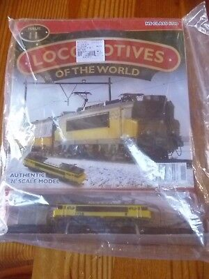 Locomotives of the World issue 11 ns class 1700 N scale   MODEL TRAIN
