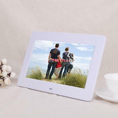 10'' HD TFT-LCD Digital Photo Frame Clock MP3 MP4 Movie Player with Remote R8M5