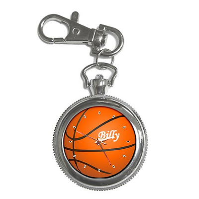 Basketball Customised Name Keychain Watch **choose Any Name/text**just Added