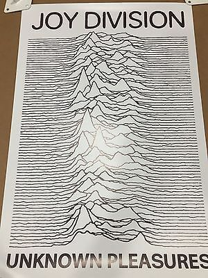 Joy Division Poster Unknown Pleasures BROWN High Quality Archival Print 16x24""