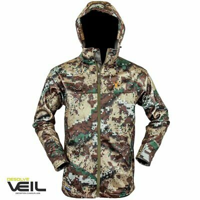 Hunters Element Sabre Soft Shell Hunting Jacket Veil Camo CLEARANCE!
