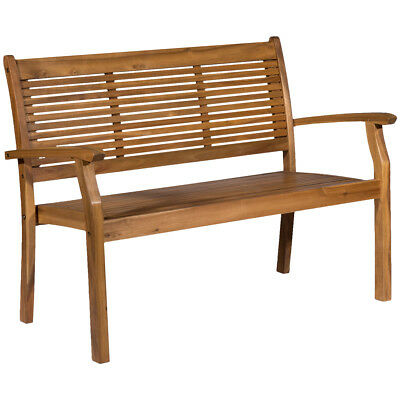 NEW Milan Direct Valencia 3 Seater Outdoor Timber Bench