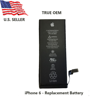 OEM Battery for Apple iPhone 6 - 1810mAh - Original OEM Battery Replacement