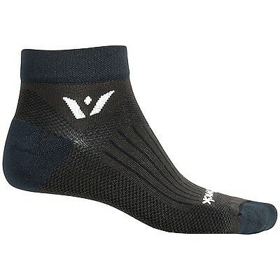 New Unisex Swiftwick Sustain One Compression Antimicrobial Socks Ankle