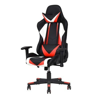 High Back Racing Gaming Pu Leather Swivel Computer Gaming Reslining Office Chair
