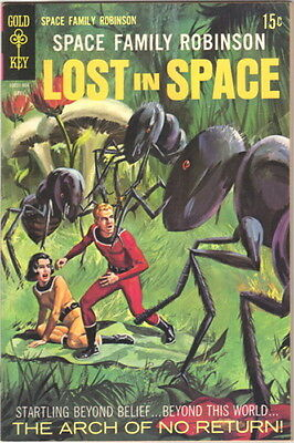 Space Family Robinson Lost In Space Comic Book #33 Gold Key 1969 VERY FINE