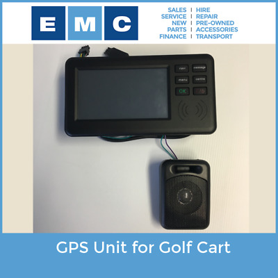 GPS Unit for Golf Cart