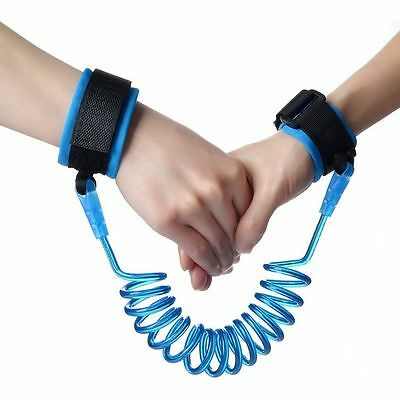 YUAKOU Safety Baby Child Anti Lost Wrist Link Harness Strap Rope Leash Walking H