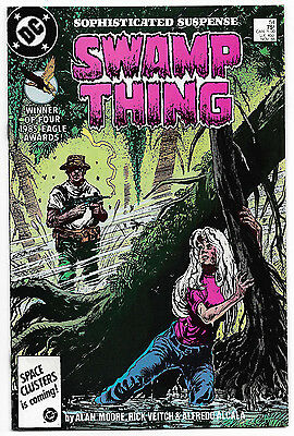 Swamp Thing #54 (Nov 1986, DC Comics) Alan Moore Story Rick Veitch Art