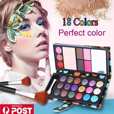 18 Colors  Matte Shimmer Smoky Eye Shadow Makeup Cosmetic Eyeshadow Palette Set