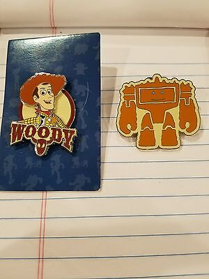 Disney Wdw Dlr Toy Story 3 Reveal Conceal Mystery Woody Limited Release Pin