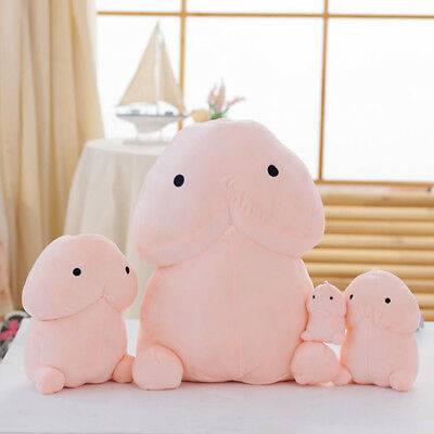 Funny Creative Plush Penis Dingding Pillow Cushion Stuffed Toy Doll Cartoon Gift