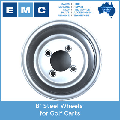 8 Inch Steel Wheel for Golf Carts