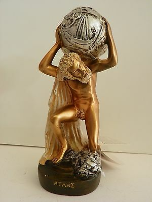 Atlas Titan  Figurine 8'' Statue Historical Greek Mythology