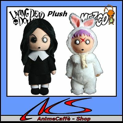 LIVING DEAD DOLLS PLUSH SERIES 1 - 2 Plush dolls NEU Sadie and Eggzorcist Neu