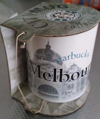 Starbucks City Mug RARE 2004 Collectors Edition Melbourne AUSTRALIA Unused 20oz