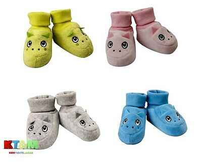 Baby Toddler Boy Girl  Dragon Warm Slippers Shoes Booties Size 0-6m, 6-12m