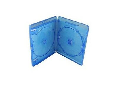 Amaray Blu Ray Double Case Face on face Storage Case for DVD CD Original /Pack 5