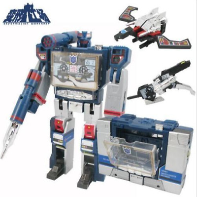 Transformers G1 Soundwave Decepticon 21cm with tapes machine Action Figure Toys