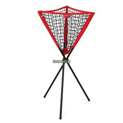 Ancheer Baseball Pitching Training Net Softball Practice Ball Caddy Portable UK
