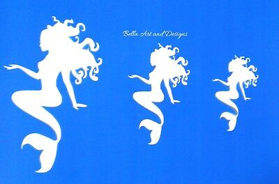 Assorted Mermaid Stencils  **Free gift with every order**