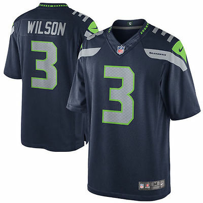 Nike #3 Russell Wilson Seattle Seahawks NFL Limited jersey L new 100% authentic!
