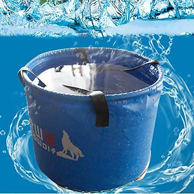 Portable Foldable Water Bucket Outdoor Living Sport Washing Basin Water Bucket